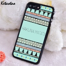 Ketaotao Aztec Hakuna Matata Soft TPU Silicone Rubber Phone Case Cover For iPhone 6 6S 7 8 Plus 5 5S SE X XS XR 11 PRO MAX(China)