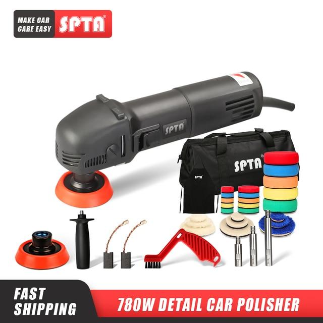 """SPTA 3 """"полировальная машинка, мини полировщик для автомобиля, домашний «сделай сам», автомобильный микро роторный полировщик с 29 штуками, искусственный набор"""