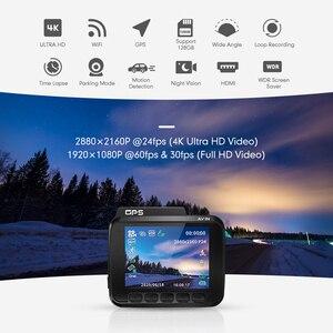 Image 2 - AZDOME 2160P GS63H Car DVR GPS 4K WIFI Dash Camera Dual Lens 1080P Rear View Camera Super Night Vision Dashcam 24H Parking Mode