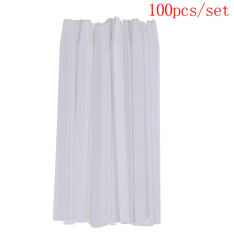 100 PCS Aromatherapy Fragrance Perfume Essential Oils Test Tester Paper Strips