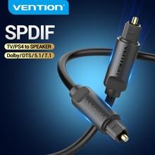 Vention cyfrowy optyczny przewód Audio Toslink SPDIF kabel 1m 5m dla wzmacniaczy Blu-ray Xbox PS4 Soundbar kabel optyczny koncentryczny