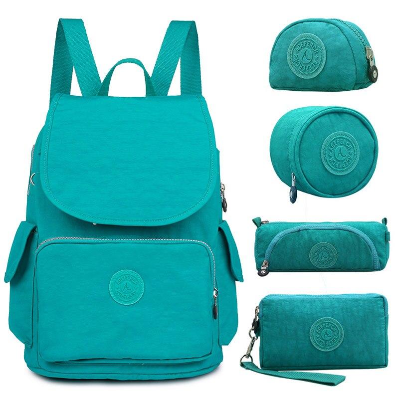 ACEPERCH Casual Original Brand Laptop Notebook Backpack Men Women Female School Backpack For Teenage Mochila Feminina 2019