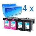 Cartucho de tinta Compatible con 4 piezas para hp 664 negro tricolor para Cartucho hp 664 para hp DeskJet 1115 2135, 3635, 1118, 2138, 3636, 3638