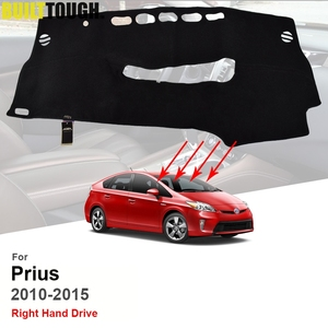 Image 1 - Xukey dla Toyota Prius XW30 2010 2011 2012 2013 2014 2015 pokrywa deski rozdzielczej Dashmat mata na deskę rozdzielczą Pad parasol przeciwsłoneczny mata na deskę rozdzielczą