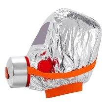 Respirator Eacape Fire Smoke Gas-Mask Protective Self-Rescue Face-Cove New
