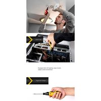 LED Electric Screwdriver Rechargeable Multi-Function Screwdriver Mini Electric 35ED
