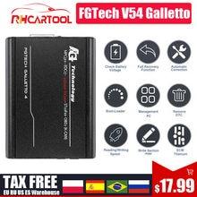 Fgtech Galletto V54 Master Fgtech 0475 0386 Galletto V54 VD300 Unterstützung BDM keine begrenzung obd2 auto ECU Chip Tunining Werkzeug