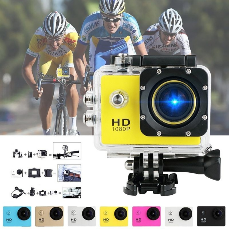 High Quality Waterproof DV SJ4000 HD 1080P Ultra Sports Action Camera DVR Helmet Cam Camcorder