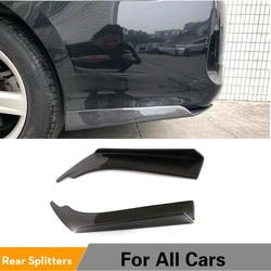 Tylny spojler zderzaka Spoiler rozgałęźniki dla BMW M3 M5 AUDI A5 A4 BENZ VW TOYOTA wszystkie samochody uniwersalne włókno węglowe|Zderzaki|Samochody i motocykle -