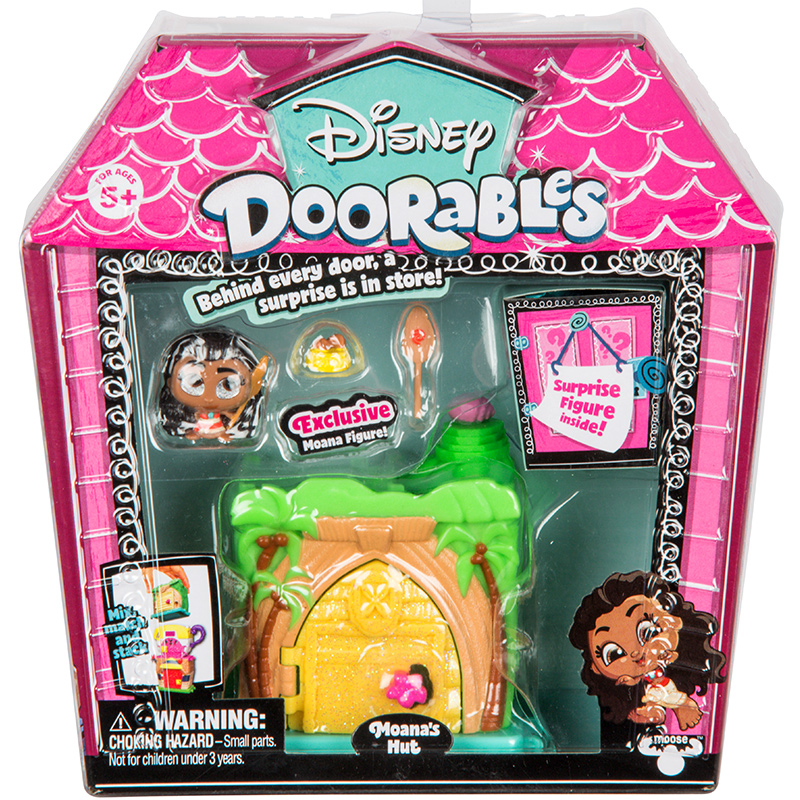 Disney Doorables Frozen Elsa Olal Mickey Minnie Judy Pinocchio Rapunzel Alice Snow White Belle Princess Blind Box Girl Kids Toys 15