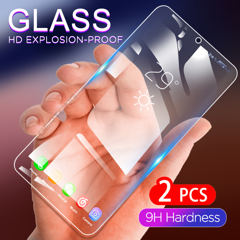 2pcs Tempered Glass For Oppo F11 F11pro Screen Protector Safety Protective Glass For Oppo <font><b>F7</b></font> F5 Youth F9 F1 F1s F 5 7 1 11 Film image