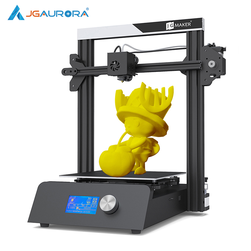 JGMaker Magic 3D Printer Aluminium Frame Matel Base DIY Kits Large Print Size 220x220x250mm Printing Masks JGAURORA RU Warehouse