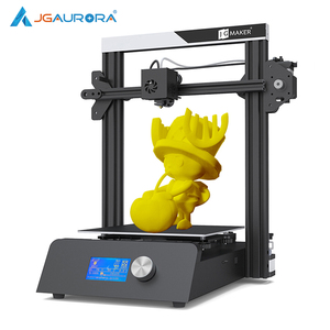 JGMaker magia 3D drukarki aluminiowa rama Matel baza zestawy DIY duży rozmiar wydruku 220x220x250mm drukowanie maski JGAURORA RU magazyn