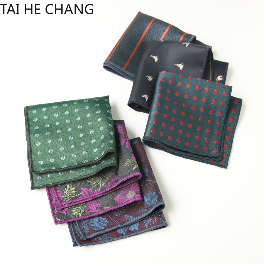 100pcs/lot 25colors Can Choice New Korean Fashion Designer High Quality Pocket Square Handkerchief Men's Business Suit Pocket
