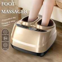 Electric Heating Foot Massager Leg Massager Shiatsu Kneading Roller Vibrator Machine Reflexology Calf Leg Pain Relief Relax