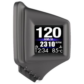 Car HUD Head Up Display OBD2+GPS Speedometer with Speedup Test Brake Test Overspeed Alarm for All Vehicle, AP-1