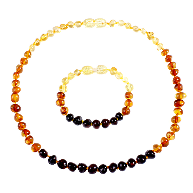 Genuine Natural Stone Necklace Supply Certificate Authenticity Classic Baltic Amber Gemstone Baby Necklace Gift 10 Color Genuine Natural Stone Necklace Supply Certificate Authenticity Classic Baltic Amber Gemstone Baby Necklace Gift 10 Color 14-33cm
