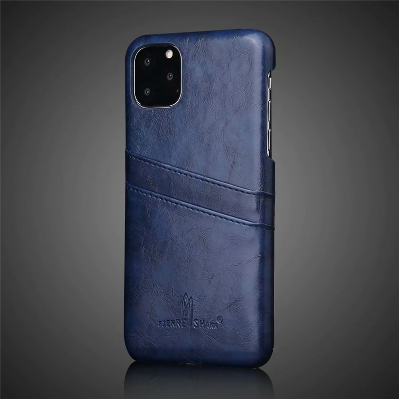 Slim Hard Leather Card Holder Case for iPhone 11/11 Pro/11 Pro Max 53