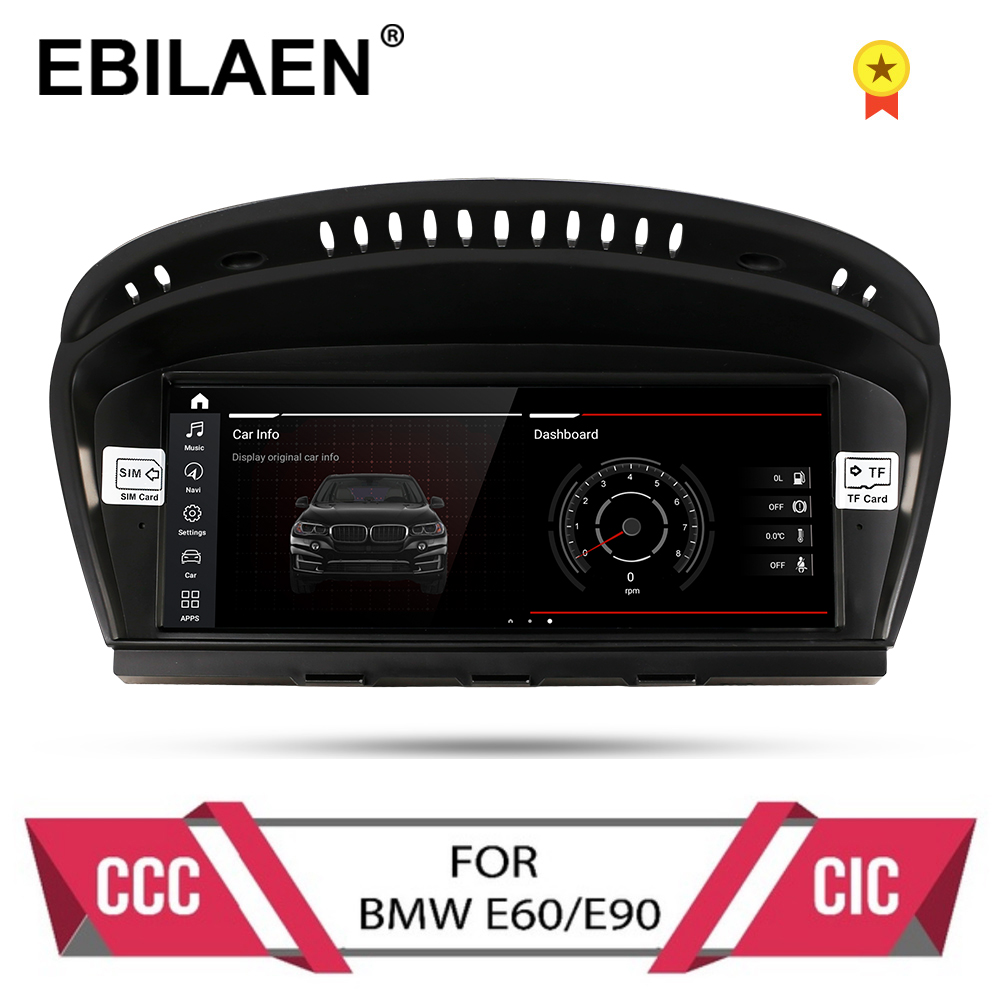 Android 10.0 car dvd player for BMW 5 series E60 E61 E62 E63 3 series E90 E91 CCC/CIC system autoradio gps navigation multimedia(China)