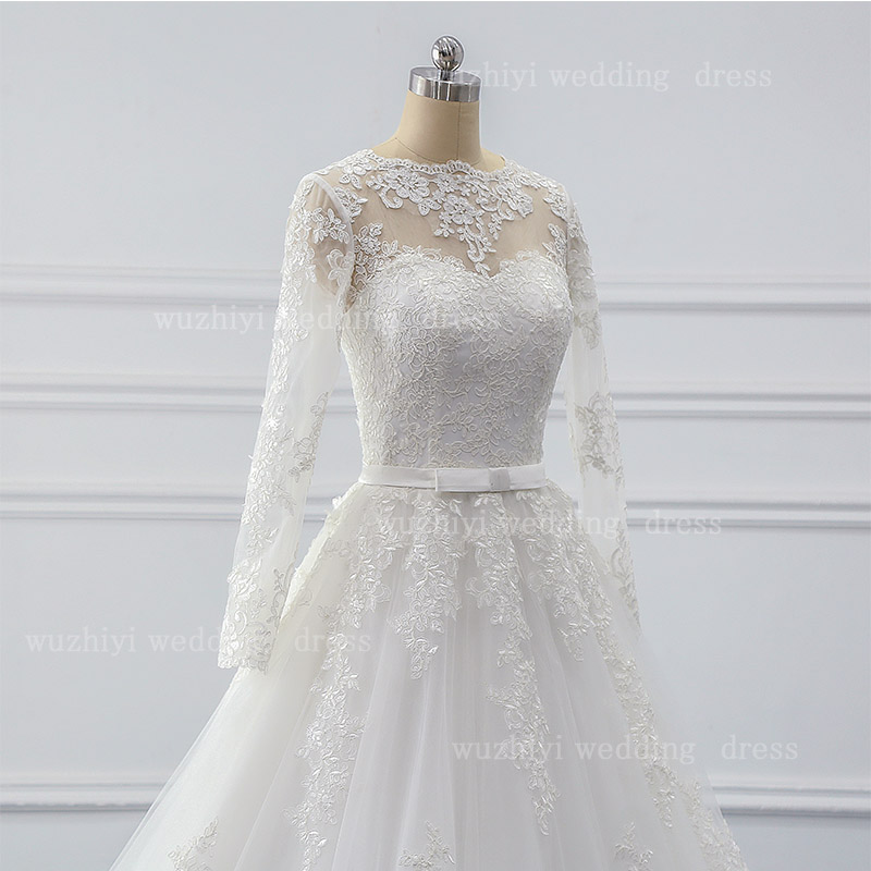 Wedding Dress A-LINE  Beading Vestido De Noiva Lace Robe De Mariee Appliques Suknia Slubna Cap Sleeves Wedding Gown Customise