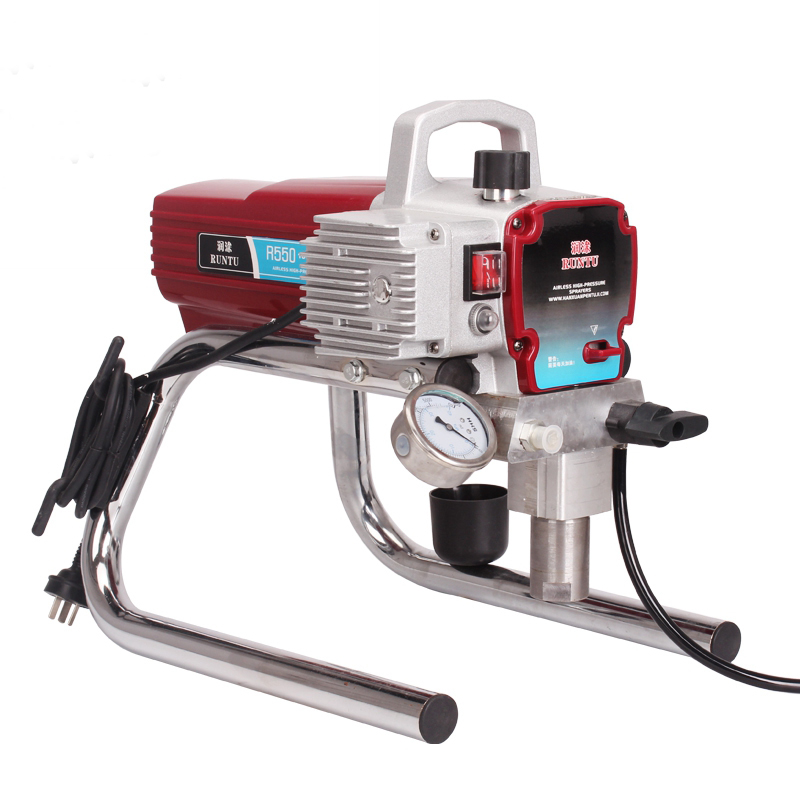 1800W 2.5L Airless Paint Sprayer Machine  For Emulsion Latex Oily Paint Electric Pump Painting Equipment