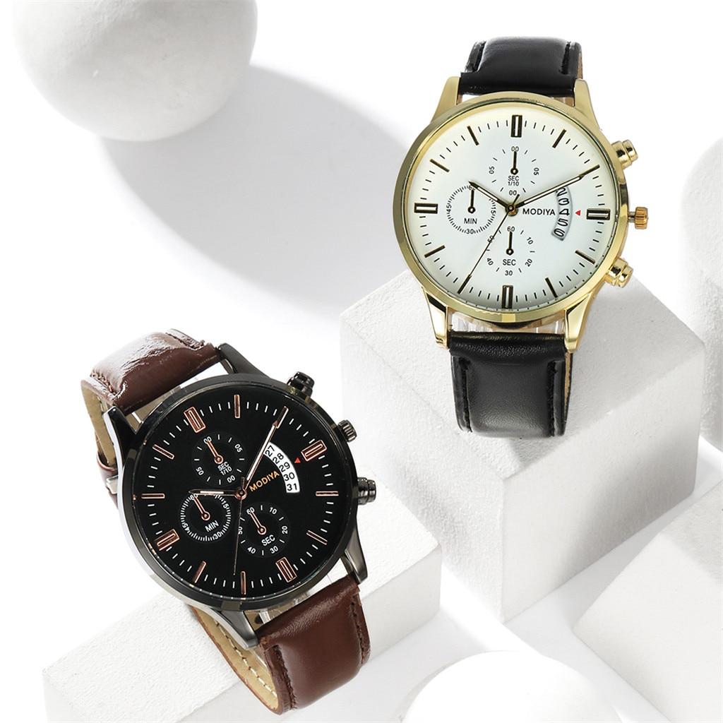 Men Luxury Stainless Steel Watch Quartz Business Calendar Wristwatch New relogio masculino curren watch men часы мужские Reloj 2