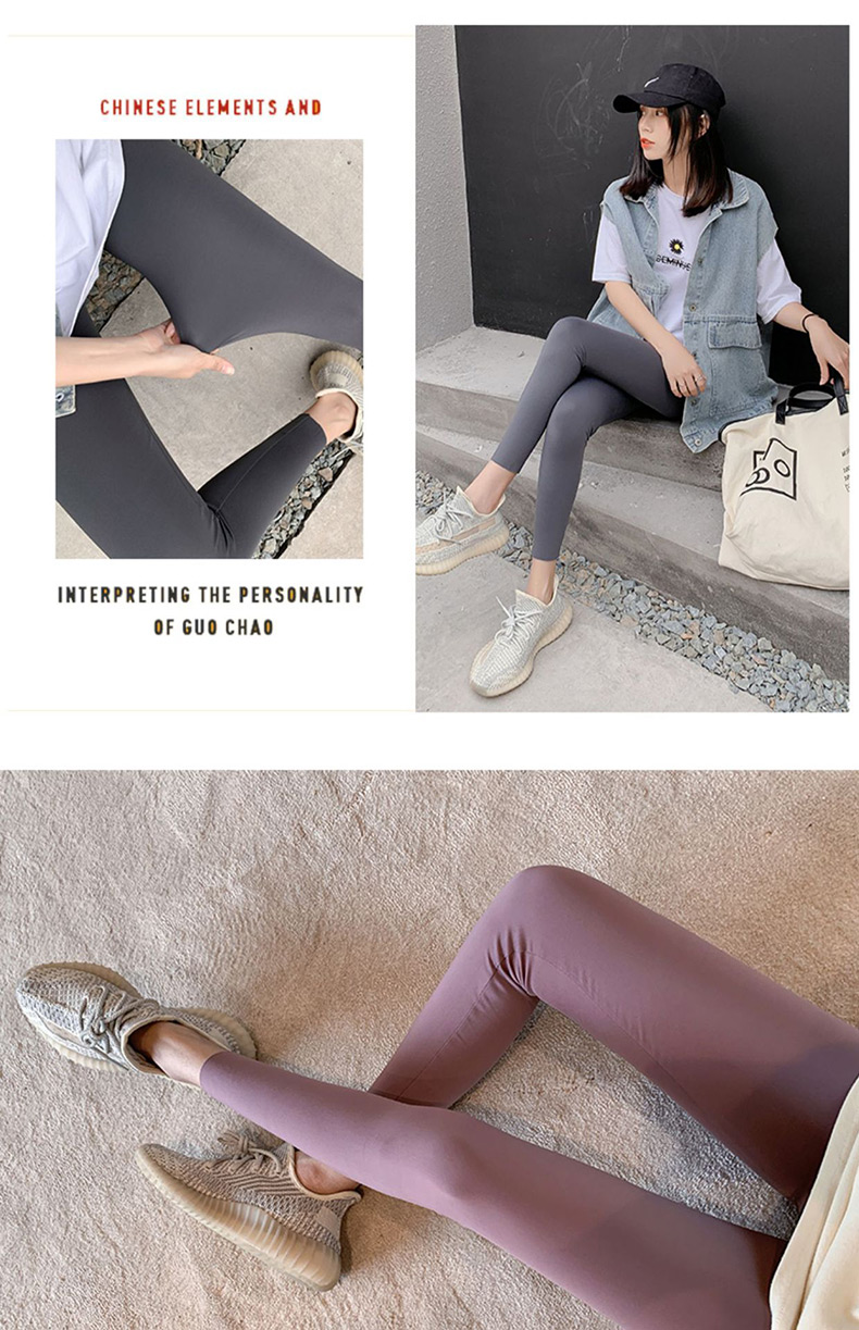 Hcc07567b0d6147fc96f432ae9c21373aa BIVIGAOS New 3-Color Sharkskin Leggings Women Spring Summer Thin Skinny Legs Fitness Leggings Pressure Elastic Sport Leggings