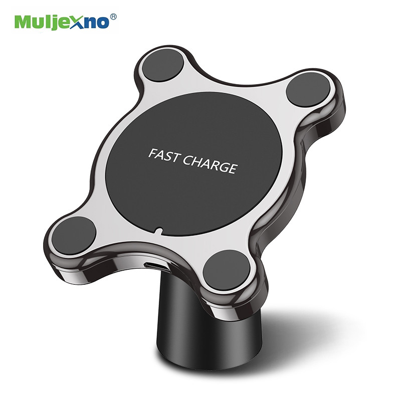 10W Car Wireless Charger Magnet Car Vent Fo Samsung S10 S9 S8 Phone Holder Qi Wireless Fast Car Charger For iPhone X XS Max XR 8 image