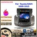 Android мультимедийный плеер для Toyota RAV4 2008-2015 Tesla Style радио GPS навигация