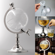 цена на Globe Shaped Beverage Dispenser Drink Wine Beer Machine Pump Single Pump