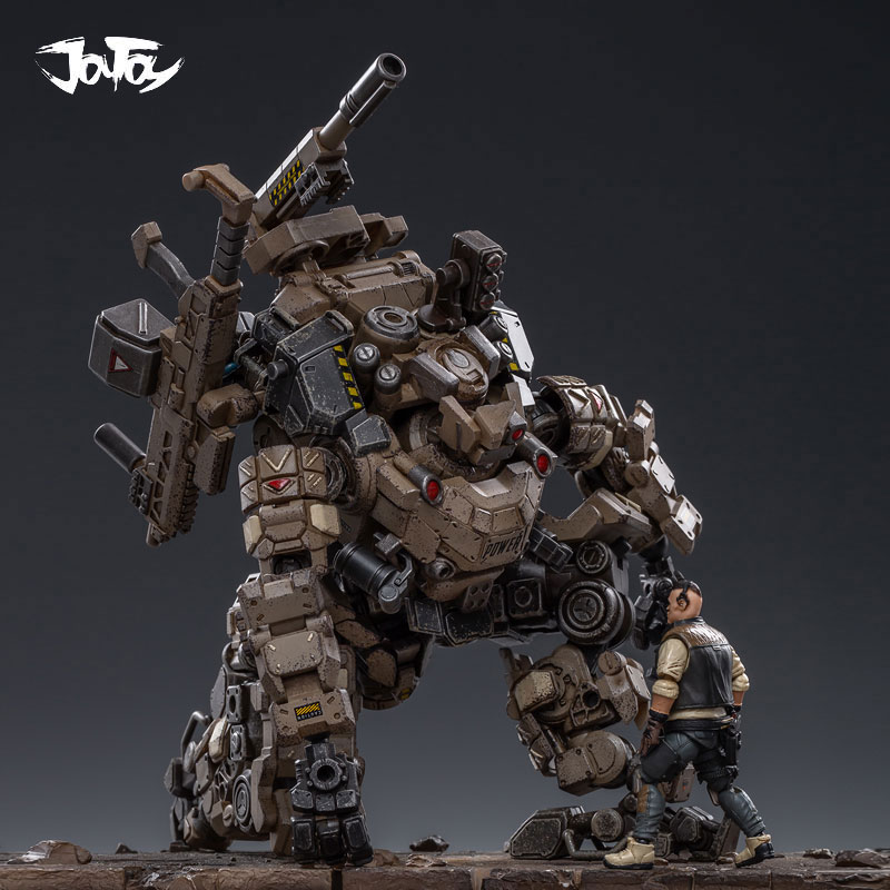 1/25 JOYTOY action figurine FSTEEL os armure méca et militaire soldat figure modèle jouets collection jouet cadeau de noël - 2