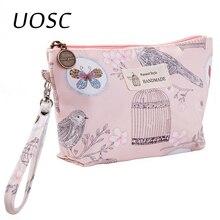 UOSC Roomy Cosmetic Bag Fashion Women Makeup Bags Waterproof Cosmetics Bag For Travel