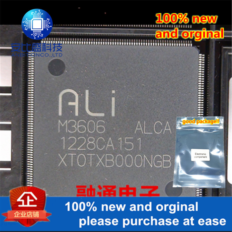 1pcs 100% New And Orginal M3606-ALCA QFP In Stock