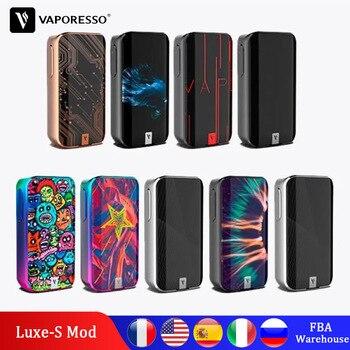 цена Original Electronic Cigarette Vaporesso Luxe Box 200W Mod Vape By Dual 18650 Battery Compatible with 510 Thread Atomizer онлайн в 2017 году