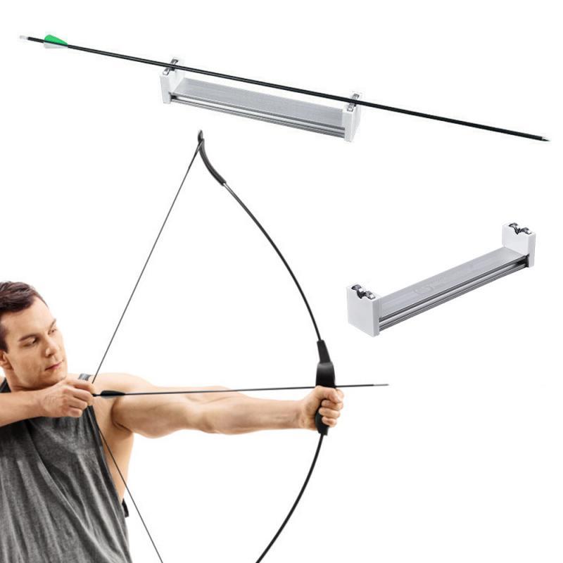 Adjustable Archery Preparation Tool Arrow Spinner Inspection Tool Arrow Spin Tester Arrow Spin Checker Tester Hunting Tool