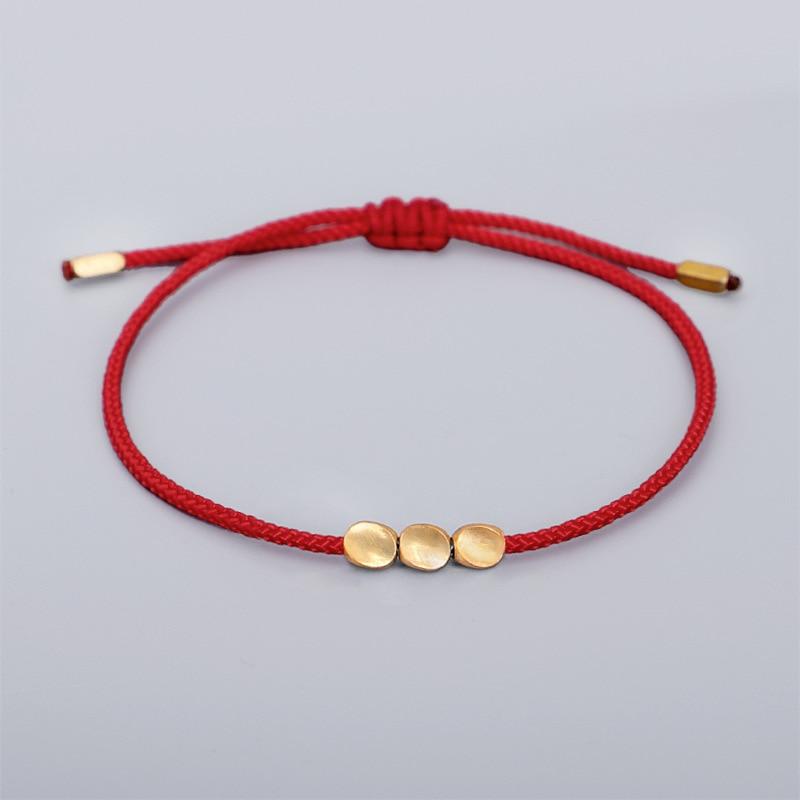 Браслеты на удачу по фэн шуй, буддизм, красная нить, восковая нить, браслет на запястье, дружба молитва йоги, уникальный подарок, китайские дешевые украшения|Браслеты с шармами|   | АлиЭкспресс
