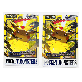Pokemon Giant Pikachu starożytne zabawki Hobby Hobby kolekcje kolekcja gier karty Anime tanie i dobre opinie TAKARA TOMY CN (pochodzenie) S-386 8 ~ 13 Lat 14 lat i więcej 2-4 lata 5-7 lat Chiny certyfikat (3C) Certyfikat europejski (CE)