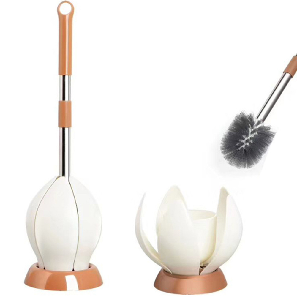 New Creative Toilet Brush With Holder For Household Toilet Cleaning Decontamination Clean Tool Bathroom Accessories