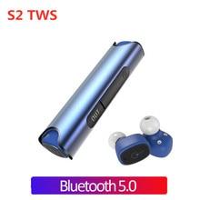 TWS S2 Wireless Bluetooth Earphones Mini Earbuds IX7 Waterproof In-ear Sport Magnetic Stereo Handsfree Headset for iphone pk tws