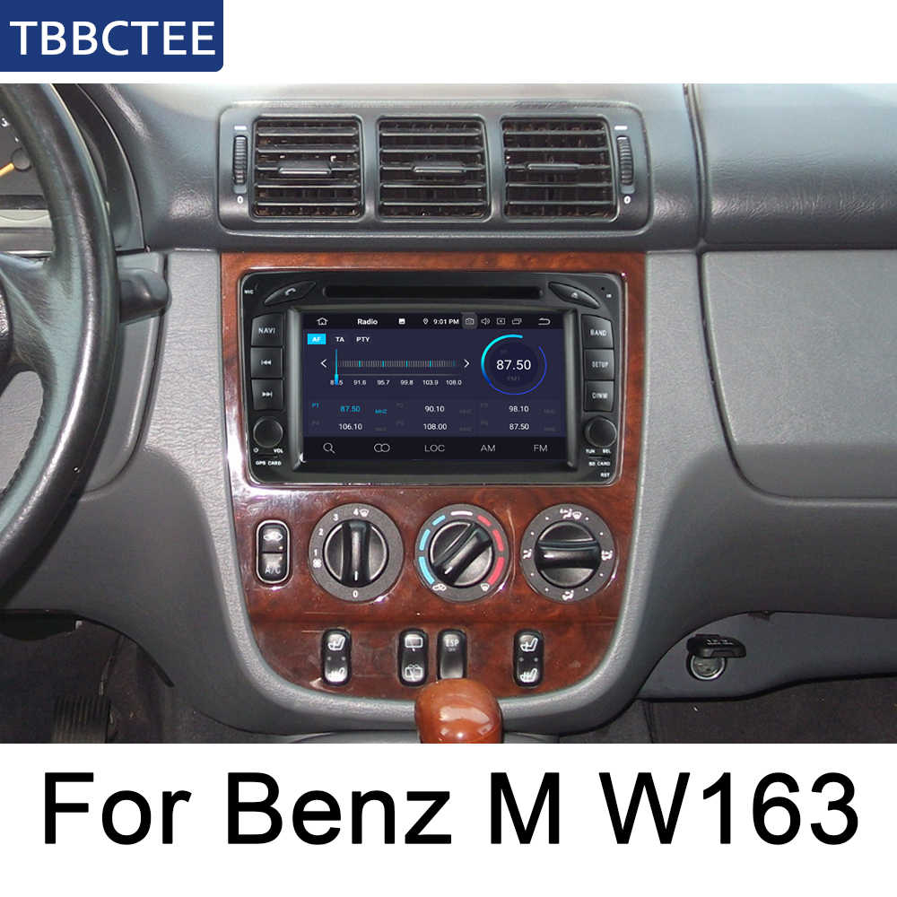Para Mercedes Benz Clase M W163 1997 ~ 2005 NTG coche reproductor Multimedia Android Radio DVD GPS Bluetooth mapa wifi sistema de