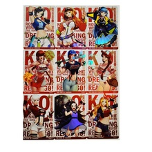 9pcs/set Kof 97 Cross Dress No.3 The King of Fighters Hobby Collectibles Game Collection Anime Cards
