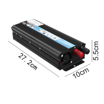 Inverter 12V 220V 5000W Peak Power Voltage Transformer Converter 12V To 220V Solar Sine Wave Inverter 4