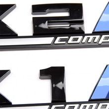 Car Styling 3D ABS M Competição Crachá Adesivo Emblema Para BMW X1 X2 X3 X4 X5 X6 M1 M2 M3 M4 M5 M6 E36 E39 E46 Acessórios Do Carro