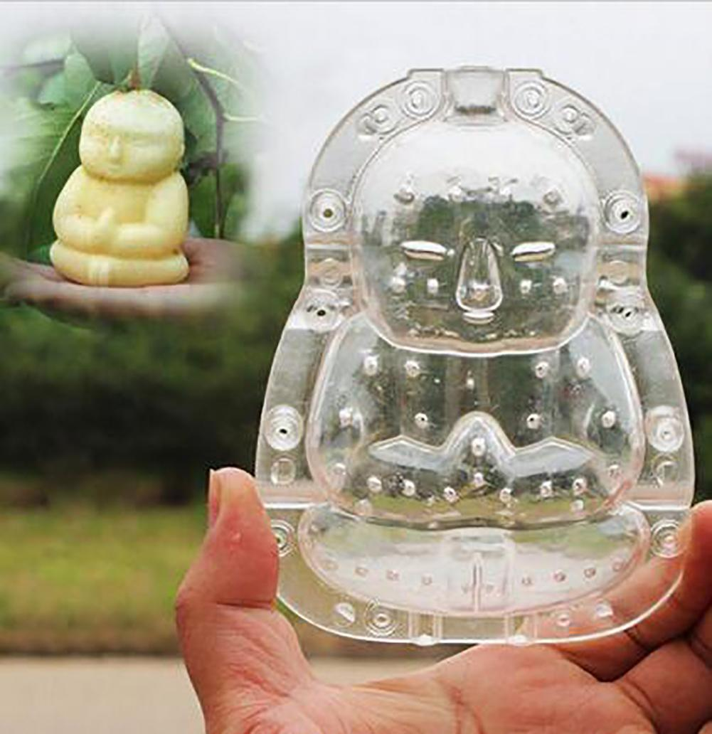 Buddha-shaped Garden Fruits Apple Pear Peach Growth Forming Mold Shaping Tool