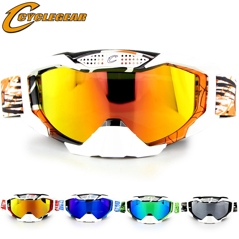 Motocross Goggles Off Road Goggle Motorcycle Glasses Cross Country MX Okulary Dirt Bike Glasses Gafas Moto CG07S