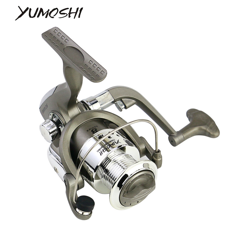 Fishing Reel 8 Ball Bearings 5.5 : 1 Fishing Spinning Reel Foldable Exchangable Reel Handle For Fishing SC 1000 - 7000