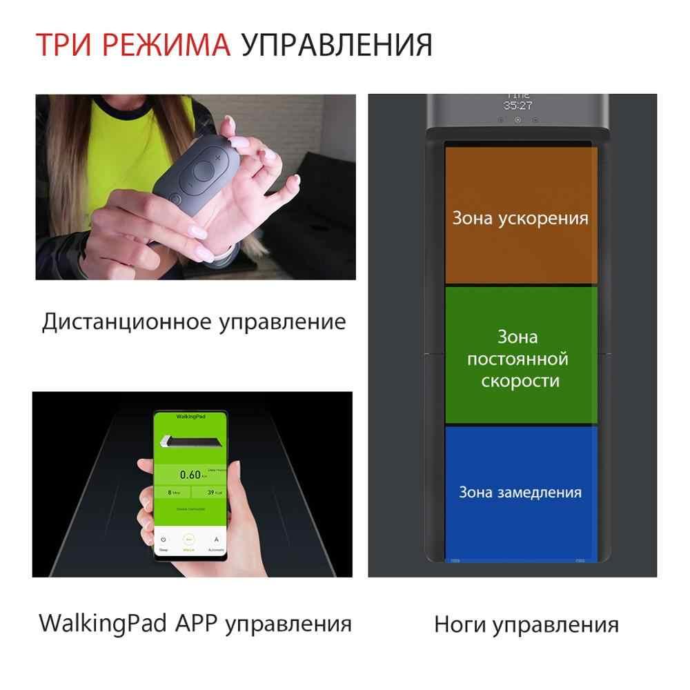 WalkingPad A1 Smart électrique pliable tapis roulant jogging espace marche Machine aérobie Sport Fitness équipement pour la maison Xiaomi écosystème