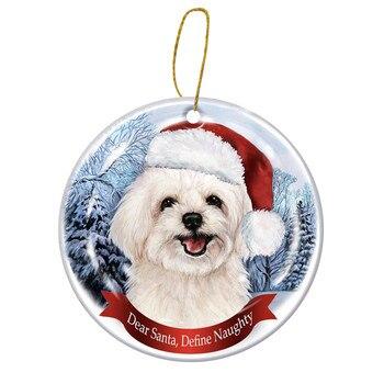 Dog Tree Pendants Merry Christmas  5