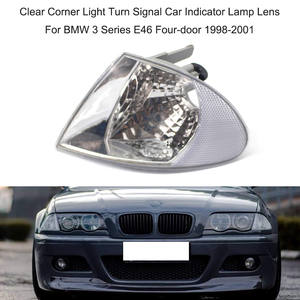 KKmoon Corner Light Turn Signal Car Indicator Lamp Lens 63138353280 Replacement for BMW 3 Series E36 Sedan Wagon 1992-1998 Left