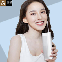 Youpin Zhibai XL1 беспроводной USB Перезаряжаемый ирригатор для полости рта портативный водный стоматологический Flosser беспроводной IPX7 зубочистка для чистых зубов